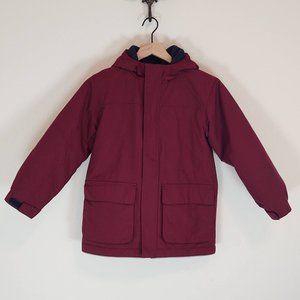 Lands End S Small 7 8 Squall Jacket Parka Coat Boy